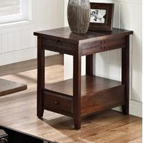 Steve Silver Crestline Chairside End Table