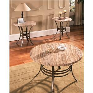 Steve Silver Ellen 3-Pack Occasional Table Set