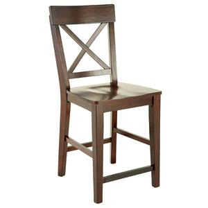 Steve Silver Gibson GB X-Back Counter Chair