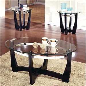 Steve Silver Matinee 3-Pack Occasional Table Group