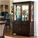 Steve Silver Marseille Buffet and Hutch - Item Number: MS800B+H