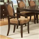 Steve Silver Montblanc Arm Chair - Item Number: MB500A