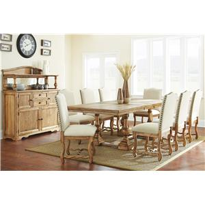 Steve Silver Plymouth Casual Dining Room Group