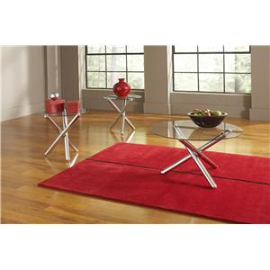 Steve Silver RV3000 3 Pack Occasional Table Set