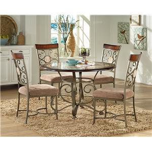 Steve Silver Thompson Thompson Table and Chair Set