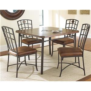 Steve Silver Trinity  5 Piece Kitchen Table and Chair Set