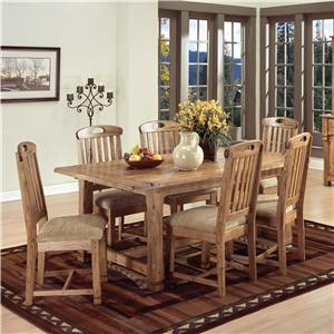 Sunny Designs Sedona 7Pc Dining Room