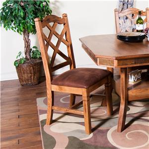 Sunny Designs Sedona Double Crossback Dining Side Chair