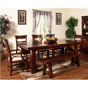 Sunny Designs Vineyard 5Pc Dining Room