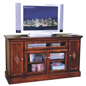Sunny Designs Cappuccino Counter Height TV Console