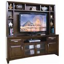 Sunny Designs Cappuccino Wide TV Cabinet - Item Number: 3332CA-TC+H