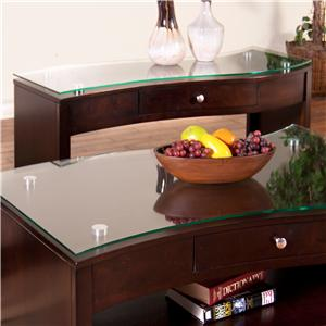 Sunny Designs Espresso Sofa/Console Table w/ Drawer