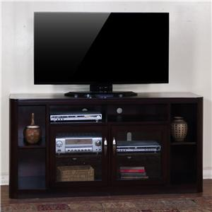 "Morris Home Furnishings Monterey Rippleton 65"" TV Console"