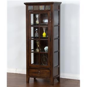 Sunny Designs Santa Fe Curio Cabinet