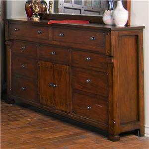 Sunny Designs Santa Fe Dresser