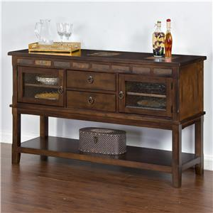 Sunny Designs Santa Fe Server w/ 2 Drawers