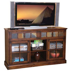 Sunny Designs Santa Fe 2 Drawer 2 Door TV Console