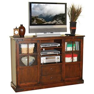 Sunny Designs Santa Fe 42 Inch Tall TV Console