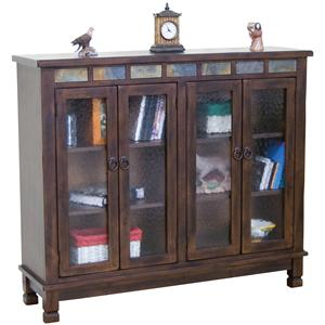 Sunny Designs Santa Fe 4 Door Closed Bookcase