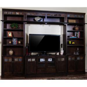 Sunny Designs Santa Fe TV Wall Unit