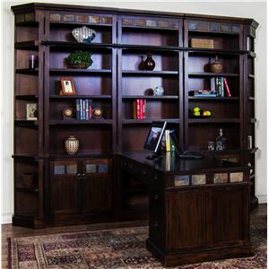 Sunny Designs Santa Fe Desk & Bookcase