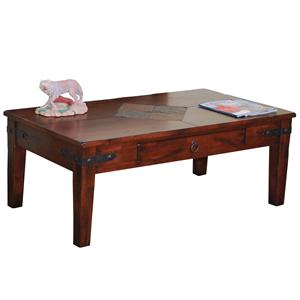 Sunny Designs Santa Fe 1 Drawer Coffee Table
