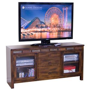 "Morris Home Furnishings Santa Fe Seneca 60"" Console"