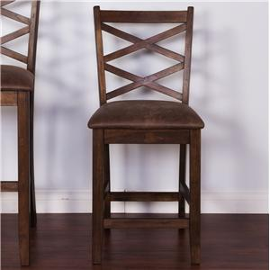 "Morris Home Furnishings Morris Ashland 24"" Barstool"