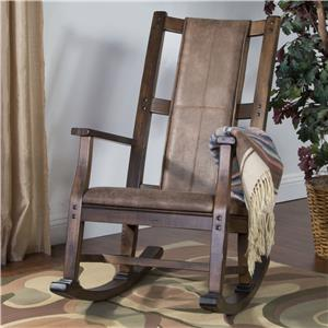 Sunny Designs Savannah Rocker w/ Cusion Seat & Back
