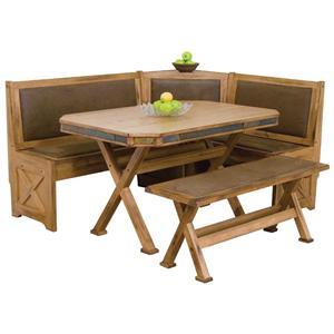 Sunny Designs Sedona Breakfast Nook Set