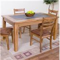 Sunny Designs Sedona Slate Top Rectangular Table - Item Number: 1170RO