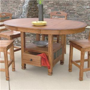 Sunny Designs Sedona Butterfly Table
