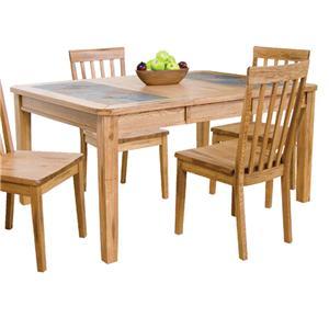 Sunny Designs Sedona Extension Table w/ Slate Top