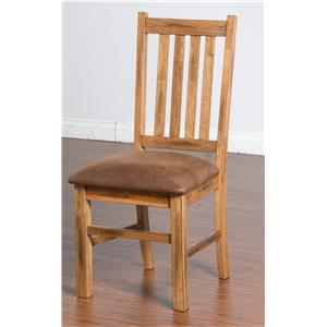 Sunny Designs Sedona Slatback Chair w/ Cushion Seat