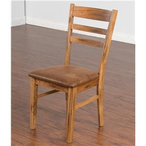 Sunny Designs Sedona Ladderback Chair w/ Cushion