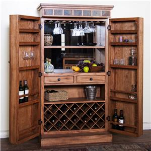 Sunny Designs Sedona Bar Armoire