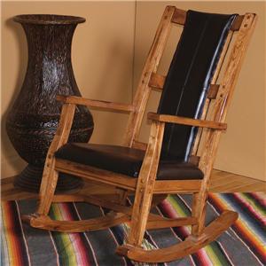 Sunny Designs Sedona Sedona Rocker w/ Cushion Seat