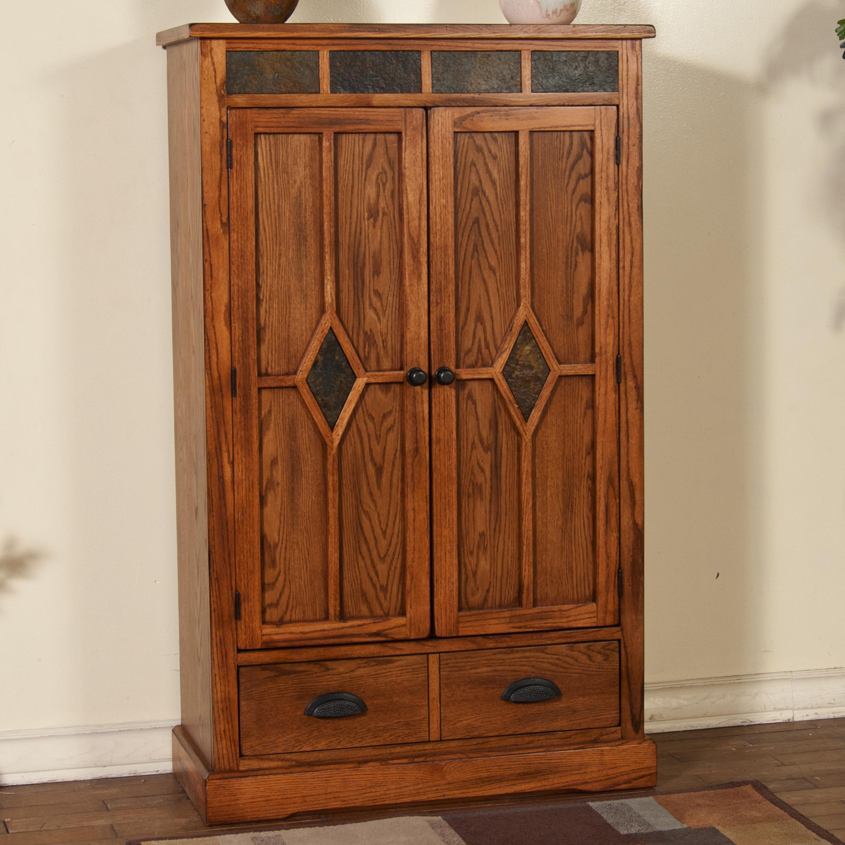 Kitchen Storage Pantry Cabinet Oak ~ Oak pantry with slate by sunny designs wolf and gardiner