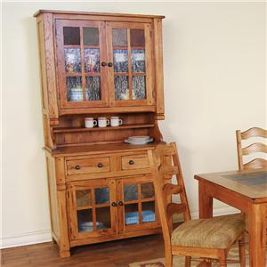 Sunny Designs Sedona China Buffet & Hutch