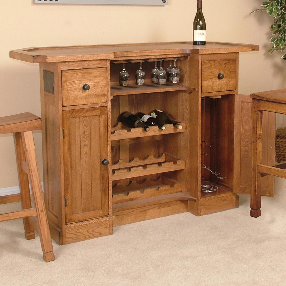 back bar server by sunny designs wolf and gardiner wolf furniture rustic oak bar