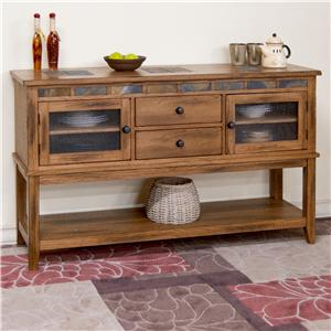 Sunny Designs Sedona Sedona Server w/ 2 Drawers