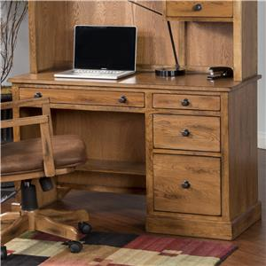 Sunny Designs Sedona Single Pedestal Desk
