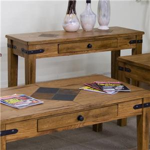 Sunny Designs Sedona Sofa Table