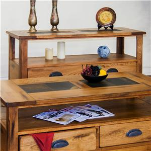 Sunny Designs Sedona Sofa Table w/ Drawers