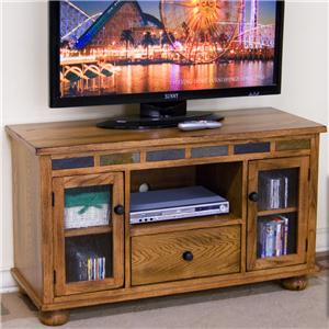 Sunny Designs Sedona TV Console w/ Game Drawer