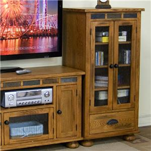 Sunny Designs Sedona Audio Pier w/ Drawer