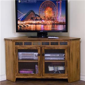 Sunny Designs Sedona Corner TV Console
