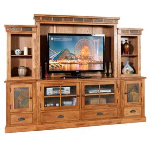 Sunny Designs Sedona 6Pc Entertainment Wall