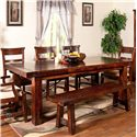 Sunny Designs Vineyard Extension Kitchen Table - Item Number: 1316RM