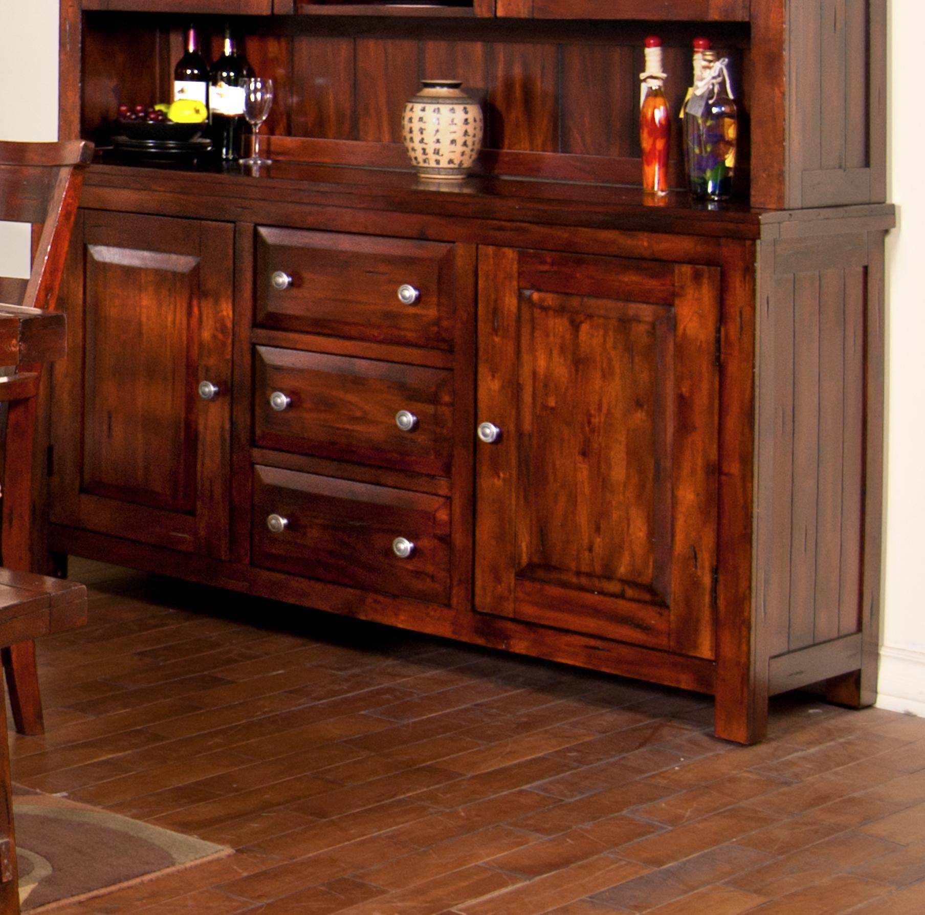 Mahogany Buffet By Sunny Designs